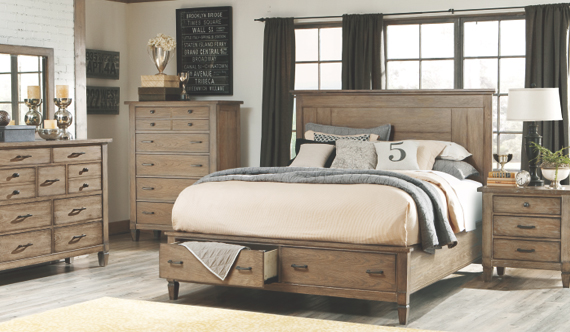 Create your dream escape with our bedroom furniture lines